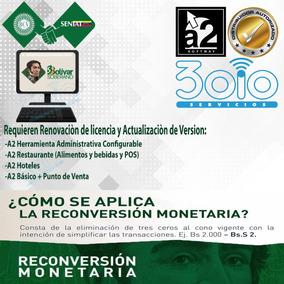 A2 Administrativo Reconversion Monetaria 2018 - Iva 16%