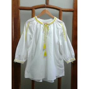 Blusa Blanca Bordada Zara - Ropa y Accesorios en Mercado Libre Argentina f19f2fd511f