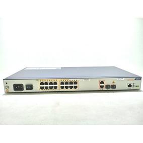 Switch Zte 16 Bocas Puertos 10/100 2 Giga 2 Sfp Rackeable