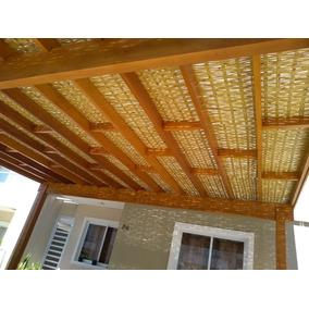 (m2) Forro De Bambu P/ Pergolado, Varanda, Espaço Gourmet