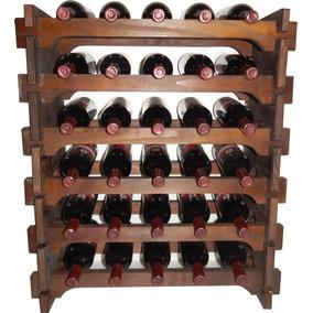 Adega Vinho Madeira 30 Garrafas Cor Imbuia C05