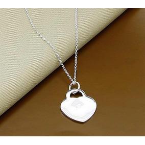 Colar Tiffany Heart Importado