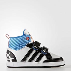 pretty nice 614e5 8309c Zapatillas adidas Neo Hoops Mid De Niño