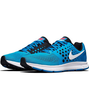 Tenis Nike Zoom Span Running Correr Caballero Azul