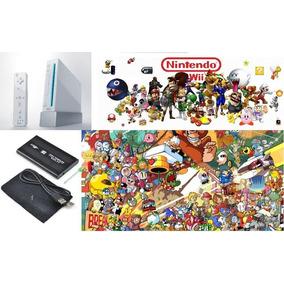 Hd Externo 1tb Lotado De Jogos Nintendo Wii + Desbloqueio