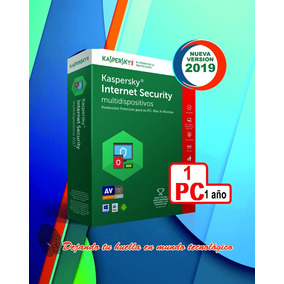 Licencia Kaspersky Internet Security 2019 1 Android 1 Año