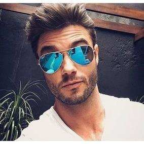 Óculos Aviador Masculino Estiloso Espelhado Moda 2019 Oferta baf1453883