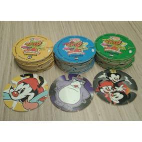 Ano 1997 - 10 Tazos Coleção Elma Chips Animaniacs Arma E Voa