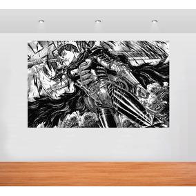 Poster Manga Berserk Adesivado Tamanho 1,10x80cm