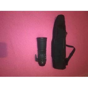 Lente Sigma Para Canon 170-500mm 1:5-6.3 Apo Dg