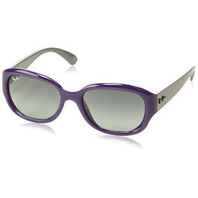 Ray Ban Rb4198 Sunglasses-604671 Opal Violet (gray Gradient 7e6fbd857aad