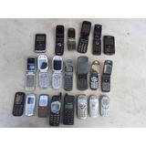 Lote 21 Telefones Celular Antigos Para Colecao Vintage Retro