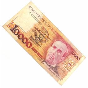 10000 Dez Mil Cruzados Antiga Nota Cédula Nacional N0236