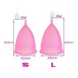 Copa Menstrual Certificada - Suave- Elige Talla Y Color