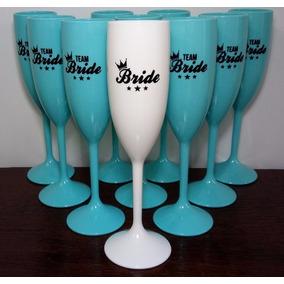 30 Taças Acrílico Personalizadas Bride E Team Bride Noiva