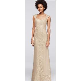 Vestido novia mujer bajita