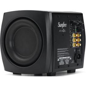 Subwoofer Ativo Sunfire Atmos Xt Atm265 1400w Rms 30-100 Hz