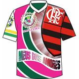 Camisa Meus Dois Amores Flamengo no Mercado Livre Brasil 4846c8205b446