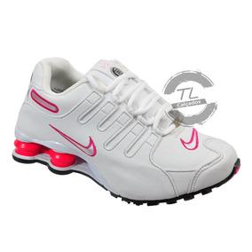 33518cb9502 Nike Shox Feminino 39 - Tênis Branco no Mercado Livre Brasil