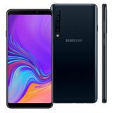 Smartphone Samsung Galaxy A9 128gb 6.3 Quad Câmera - Preto