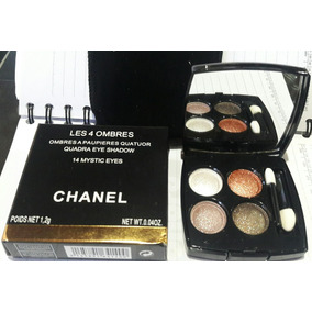 3d011040b Quarteto De Sombras Chanel - Maquiagem no Mercado Livre Brasil