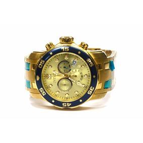 Relógio Invicta Pro Diver 80068 Resistente Água 200m Dourado