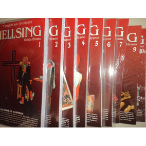 Manga Hellsing 1 2 3 4 5 6 7 9 10 Jbc Editora 2015 Excelente