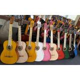 Guitarra Acustica Paracho Michoacan Colores Adulto Madera