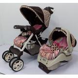 Coche Graco Para Niña Y Porta Bebe Con Base Para Carro
