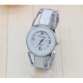 dd1807c6013 Relogio De Luxo Feminino Bracelete - Relógios De Pulso no Mercado ...