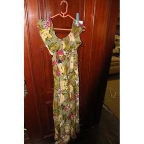 = Roupa Lote 589 Mulher Vestido Longo 4 Dalet Fashion Florid