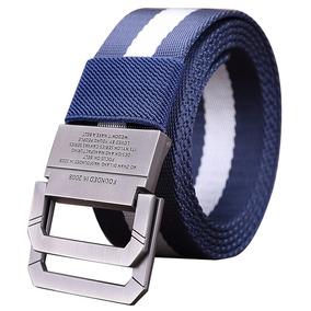 Medio Cigarrillo Cinturón De Lona Cinturón De Los H Azul 115