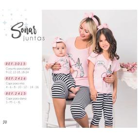 ebc4a3a1c Pijama Mujer Capri Sandia - Ropa y Accesorios en Mercado Libre Colombia
