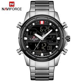 Relógio Masculino Militar Naviforce Original Frete Grátis