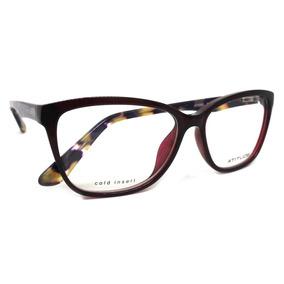 d57ed7a881645 Óculos De Grau Atitude At4069 Acetato (preto T01, 55-15-140)