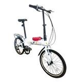 Bicicleta Dobrável Tempo 3.0 Branca