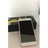 Celular Blu Grand Xl Vermelho Com Branco Usado Semi Novo