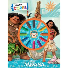 Livro P/colorir Disney Cores - Moana