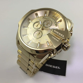 6209b6a69222 Reloj Dorado Hombre - Relojes Pulsera Masculinos Diesel en Mercado ...