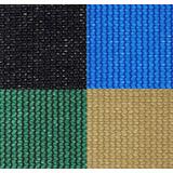 Malla Sombra 90% Sombra Raschel Verde Azul Negro Beige