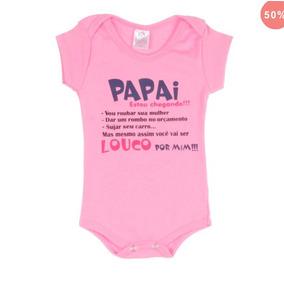 Body Papai Estou Chegando Roupas De Bebê No Mercado Livre Brasil