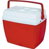 Caixa Térmica Vermelha 26 L Mor
