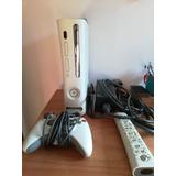 Xbox 360 Original Con Control, 15 Videojuegos Y Guitarra.
