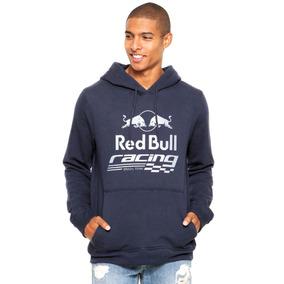Blusa Moleton Frio Casaco Moletom Red Bull Races Corrida 32a64955dfa
