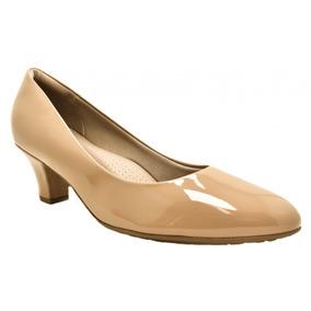 5add95730 Sapato Social Feminino Piccadilly - Sapatos para Feminino Nude no ...