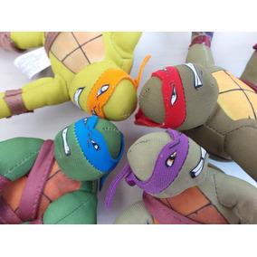 Coleção Mc Donalds Tartarugas Ninja Pelúcia Edição Completa