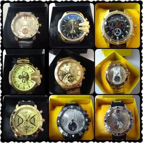 11a8d3f08a9 Lote Com 15 Relógios Luxo Masculino + Caixa   Frete Grátis