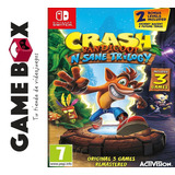 Crash Bandicoot N- Sane Trilogy Nintendo Switch Fisico Nuevo