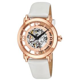 Reloj Dama Stuhrling Automatico Skeleton 124w14