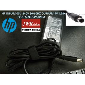 Cargador Laptop Hp Original 19v 4.74a Plug 7.4*5.0mm Jwk